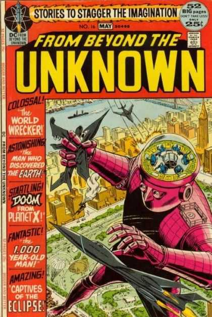 From Beyond the Unknown 16 - Stories To Stagger - Dc - World Wrecker - Colossal - Eclipse - Murphy Anderson