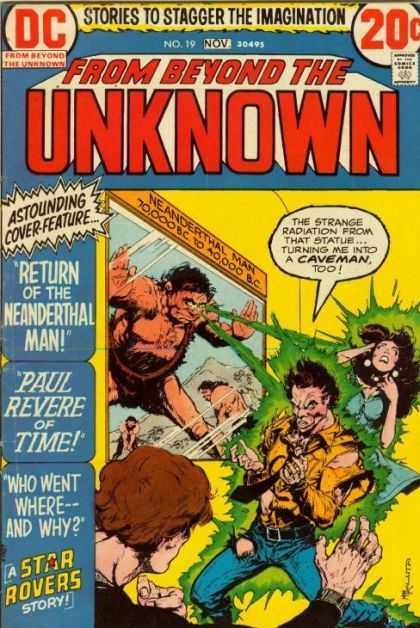 From Beyond the Unknown 19 - History Repeat It Self - Mankind Woke From The Past - Phoenix Man From The Tears Of Time - Neanderthal The Devil - Man From The Cave Of History - Michael Kaluta
