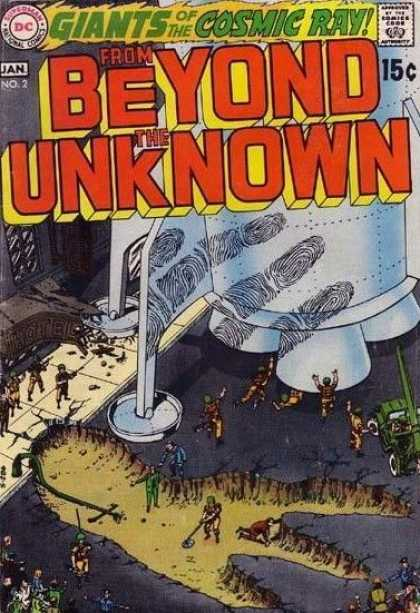 From Beyond the Unknown 2 - From Beyond The Unknown - Big Foot - Hude Hand Print - Giants Of The Cosmic Ray - Tiny People - Murphy Anderson