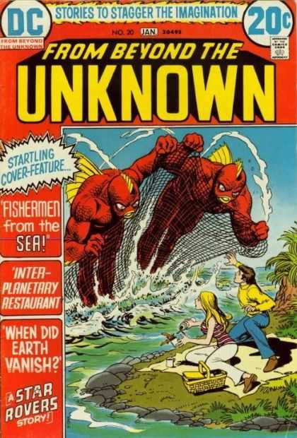 From Beyond the Unknown 20 - Fishermen From The Sea - Inter-planetary Restaurant - When Did Earth Vanish - Star Rovers - Stories To Stagger The Imagination - Nick Cardy