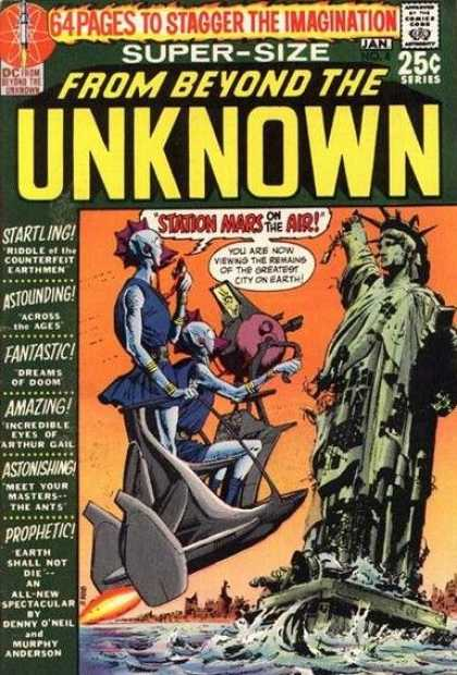 From Beyond the Unknown 8 - America The Falling - Desciet - Alien Liberty - Crash Liberty - She Stand Alone - Neal Adams