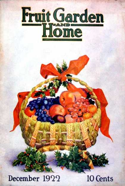 Fruit Garden and Home - 12/1922