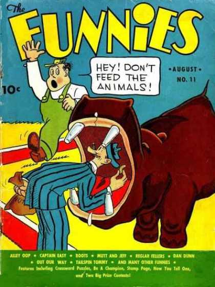 Funnies 11 - Innocent Killing - The Manhunting - Food Of Animal Man - Scarcity Of Food - Decreasing Population