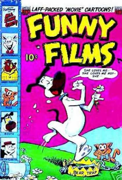 Funny Films 23 - Laff-packed Movie Cartoons - Bear-trap - She Loves Me - She Loves Me Not - Love