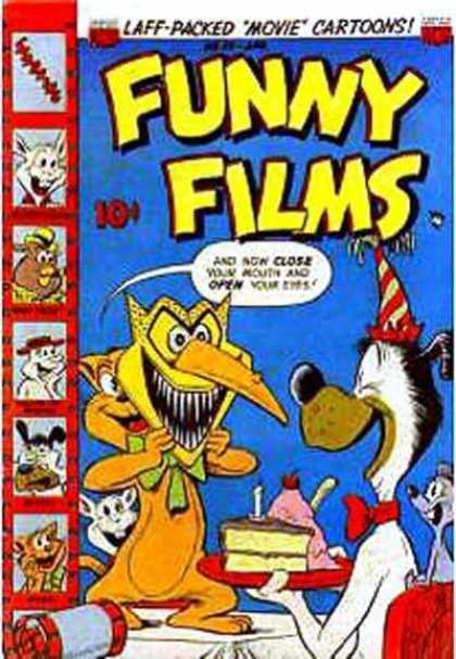 Funny Films 28 - Laff-packed - Movie Cartoons - Mask - Cat And Dog - Slice Of Cake