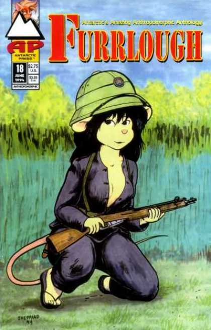Furrlough 18 - Rifle - Water - Woman-mouse - Sheppard - 18 June 1994