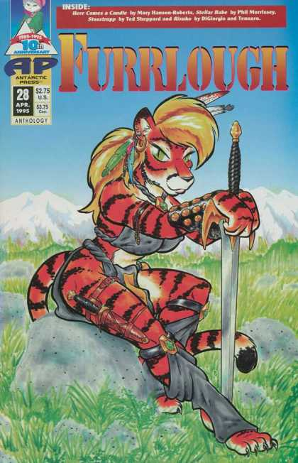 Furrlough 28 - Humanoid Animals - Sexy Tigers - Tigers Dont Have Breastsduh - Tigers Dont Have Opposable Thumbs - What A Mane