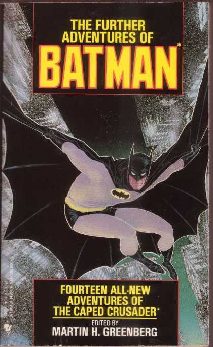 Further Adventures of Batman 1 - Fourteen - Crusader - Martin Greenberg - Caped - Leaping