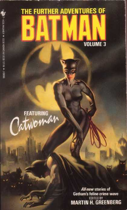 Further Adventures of Batman 3 - Catwoman - Volume 3 - Martin Greenburg - Black Suit - Whip