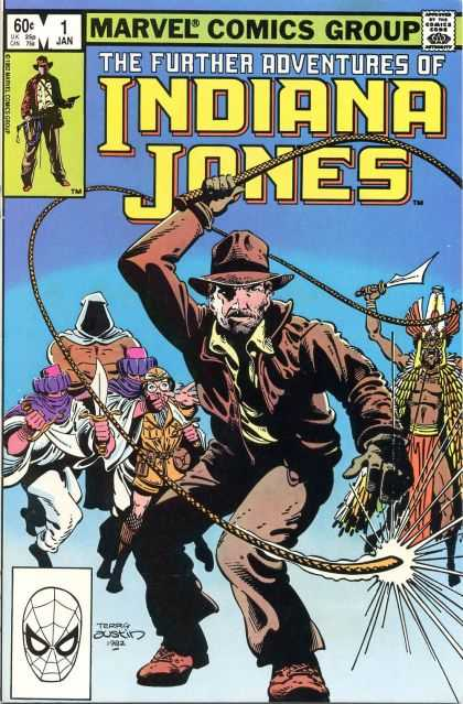 Further Adventures of Indiana Jones 1 - Feel The Lash - Jungle Adventures - Lash V Slash - Mask Of Terror - The Assasins Blade - Terry Austin
