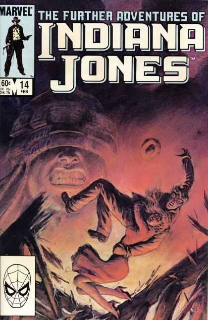 Further Adventures of Indiana Jones 14 - Marvel - Man - Woman - Giant - Face - Bret Blevins