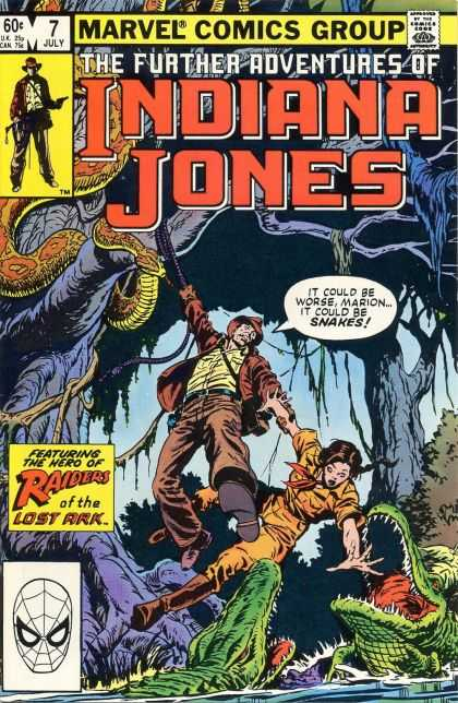 Further Adventures of Indiana Jones 7 - Trees - Snakes - Crocodile - Spider - Kerry Gammill
