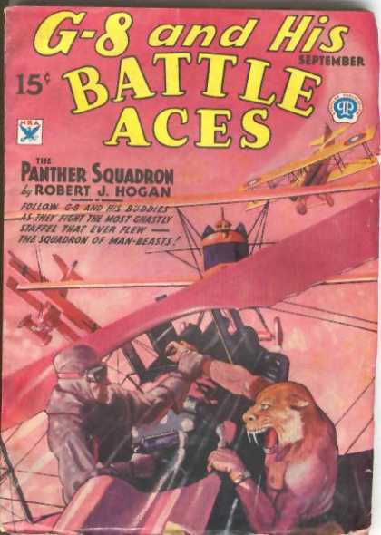 G-8 and His Battle Aces 10