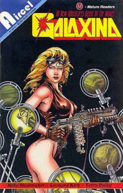 Galaxina 1 - Aircel - Mature Readers - Scopes - Goggles - Guns