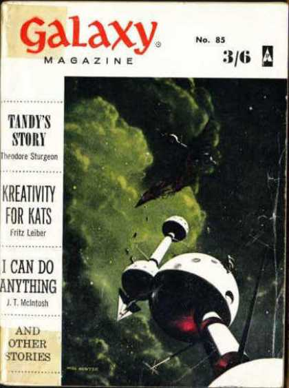Galaxy Science Fiction - 6/1961