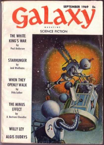 Galaxy Science Fiction - 9/1969