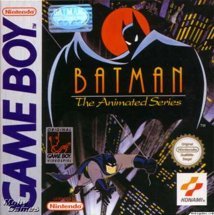 Game Boy Games - Batman: The Animated Series