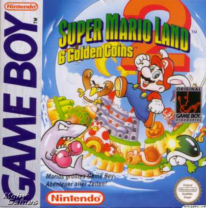 Game Boy Games - Super Mario Land 2: 6 Golden Coins