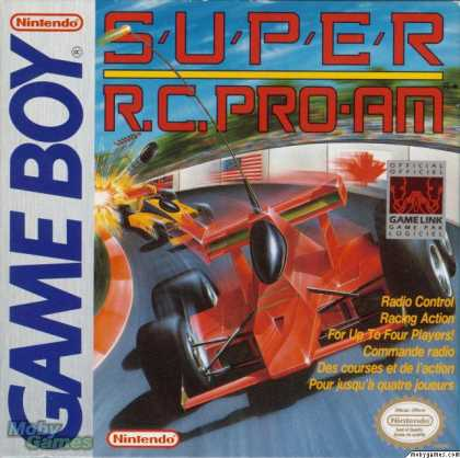 Game Boy Games - Super R.C. Pro-Am