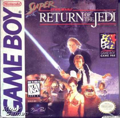 Game Boy Games - Super Star Wars: Return of the Jedi