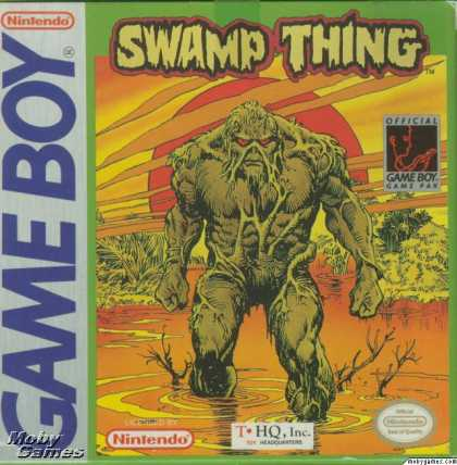 Game Boy Games - Swamp Thing