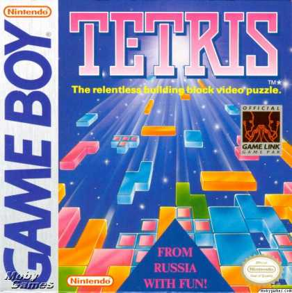 Game Boy Games - Tetris