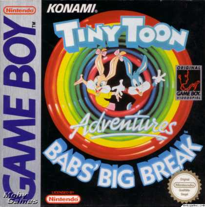 Game Boy Games - Tiny Toon Adventures