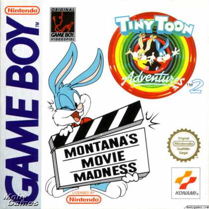Game Boy Games - Tiny Toon Adventures 2: Montana's Movie Madness