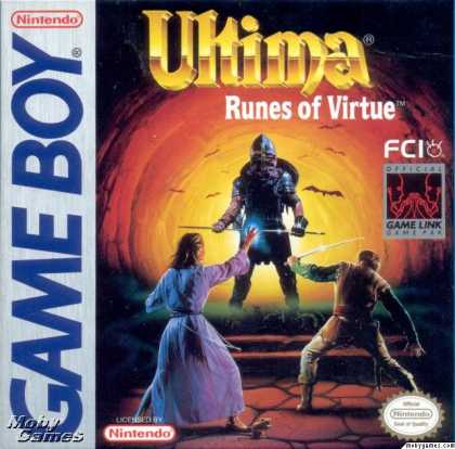 Game Boy Games - Ultima: Runes of Virtue