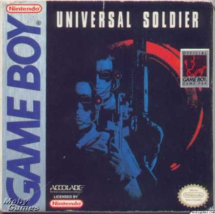 Game Boy Games - Universal Soldier