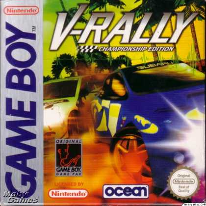 Game Boy Games - V-Rally Championship Edition