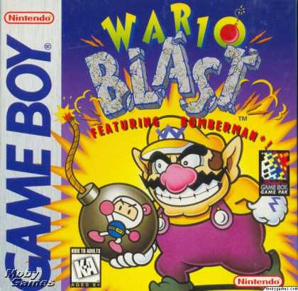Game Boy Games - Wario Blast