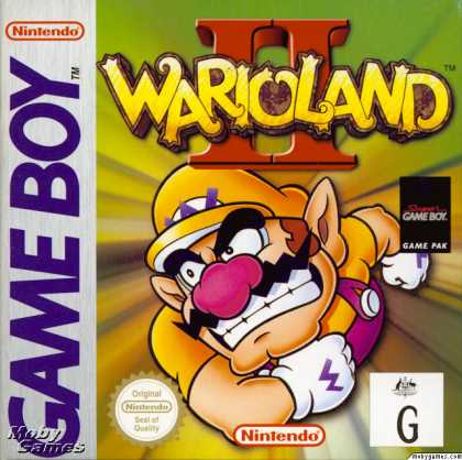 Game Boy Games - Wario Land II