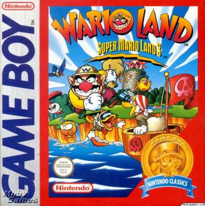 Game Boy Games - Wario Land: Super Mario Land 3