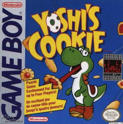 Game Boy Games - Yoshi's Cookie