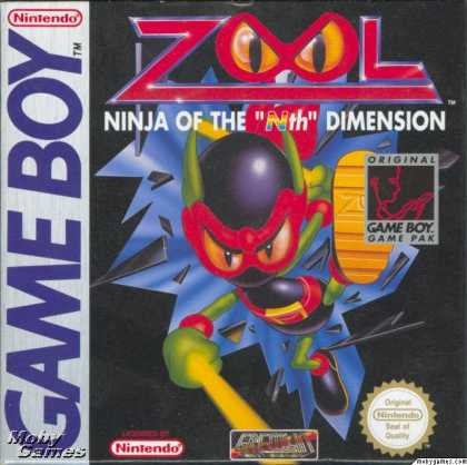 Game Boy Games - Zool