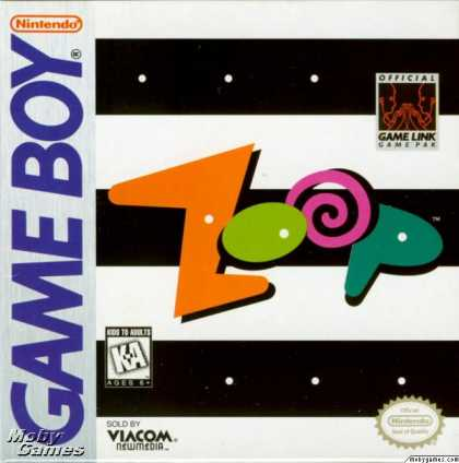 Game Boy Games - Zoop