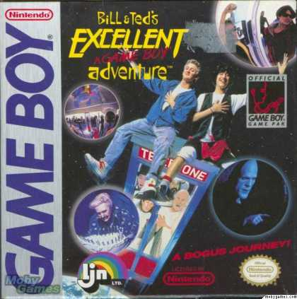 Game Boy Games - Bill & Ted's Excellent Adventure