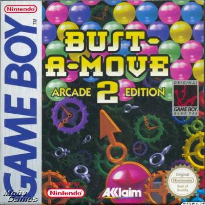 Game Boy Games - Bust-A-Move 2: Arcade Edition