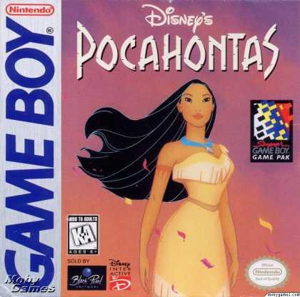 Game Boy Games - Disney's Pocahontas