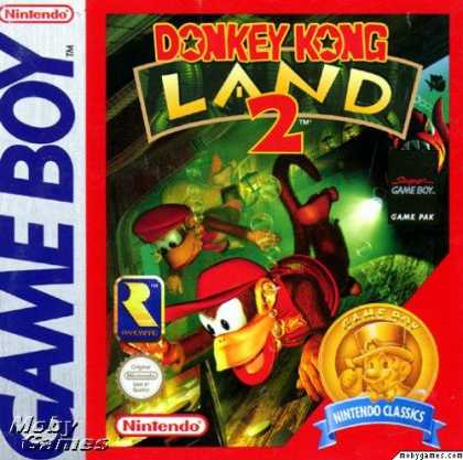 Game Boy Games - Donkey Kong Land 2: Diddy's Kong Quest