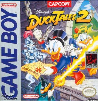 Game Boy Games - Duck Tales 2