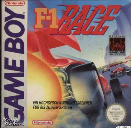 Game Boy Games - F-1 Race