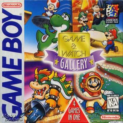 Game Boy Games - Game & Watch Gallery