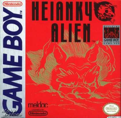 Game Boy Games - Heiankyo Alien