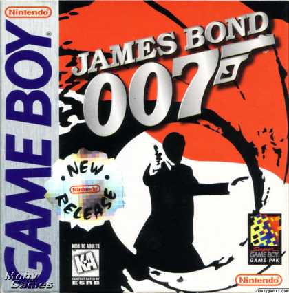 Game Boy Games - James Bond 007