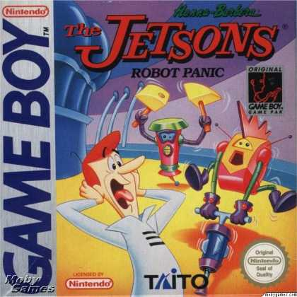 Game Boy Games - The Jetsons: Robot Panic