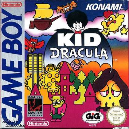 Game Boy Games - Kid Dracula