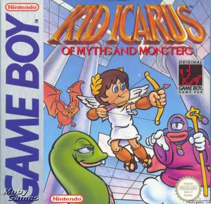 Game Boy Games - Kid Icarus: Of Myths and Monsters