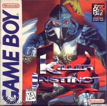 Game Boy Games - Killer Instinct
